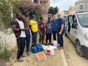 Sub Saharan African refugees in Algeria